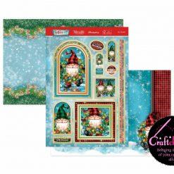 Hunkydory - Christmas Blockbuster 2021 - Festive Fun - My Gnomie - Luxury Topper Set