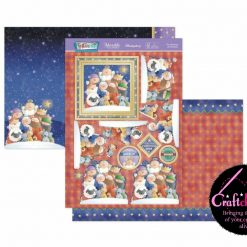 Hunkydory - Christmas Blockbuster 2021 - Festive Fun - The Meaning Of Christmas - Luxury Topper Set