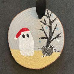 Halloween - Christmas Ghost - Tree