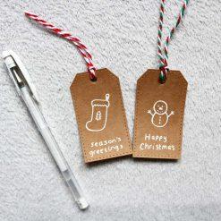 Christmas Gift Tags Handmade (Pack of 5) 1