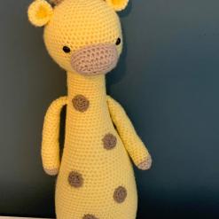 Geraldine The Giraffe Crochet Toy Hand Made With Love