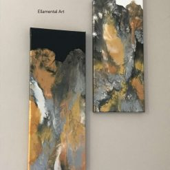 Classy Duo - Abstract Acrylic Original and Unique Painting