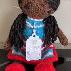 Baby Luna knitted doll