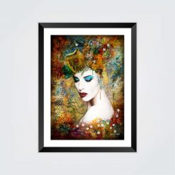 Mounted Print - Dreaming in Technicolor