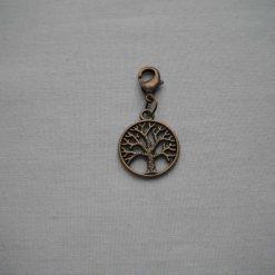 Tree Of Life Bag Charm/Stitch Marker