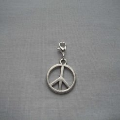 Peace  Charm/Stitch Marker