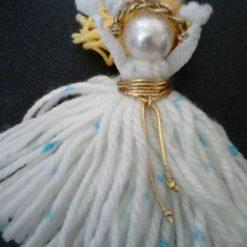 Woollen Doll key Ring/Bag Clasp
