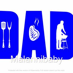 Dad BBQ Digital SVG File | Cricut | Silhouette |  CNC, ESP DXF JPG PNG PDF