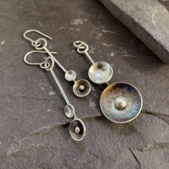 Sterling Silver Domed Jewellery, Silver Discs
