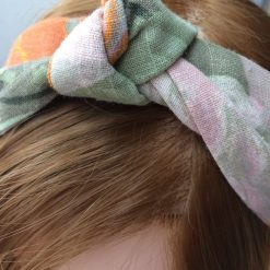 Alice band in Vintage linen