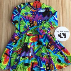 Handmade children's clothing |twirly dress | ages 2 to 12