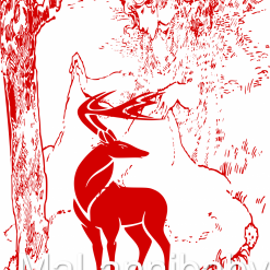 Fantasy Deer SVG | Cricut | Silhouette | CNC ESP DXF JPG PNG PDF