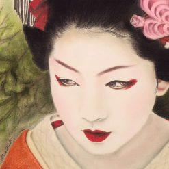 Geisha Girl - Original Pastel Painting