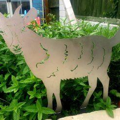 Steel Goat Ornament Large