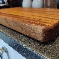 African walnut chopping board