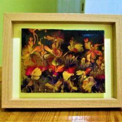 """""""NIGHT GARDEN II"""" -  Canvas in Frame"""