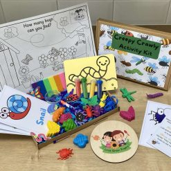 Creepy Crawly Activity Kit | Kid's Craft Kit | Kids Activity Box | Letterbox Gift | Activity | Bugs | Insects