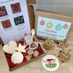 Christmas Gift | Bird feeder children's craft | DIY bird feeder kit | Make your own bird feeder | Bauble Bird Feeder | Craft Activity Box