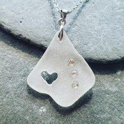Cornish seaglass necklace