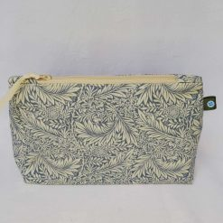 Make Up Bag, Cosmetic Bag, Pencil Case. Handmade, William Morris Fabric Larkspur.