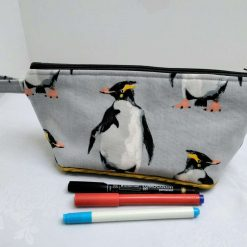 Penguin Pencil Case from Sand Bags, St Ives by Naomi