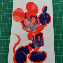 Vinyl cut sticker