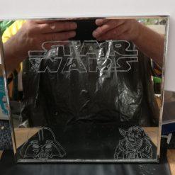 Engraved Star Wars mirror