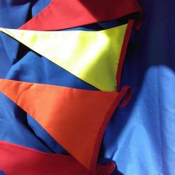 Summer colours bunting indoor or outdoor