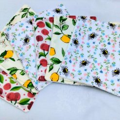 Washable Cloth Wipes from Sand Bags, St Ives by Naomi
