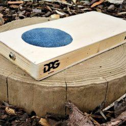 Beatbox - Electro-acoustic, portable drum box/cajon - Natural/Blue