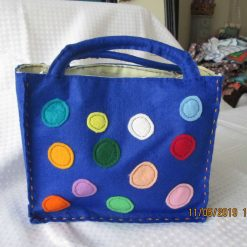 Child's felt bag