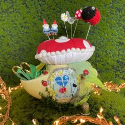 Pin cushion Sewing Set Gift Notions Tidy Gnome Home Sewing Caddy Fungus
