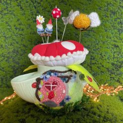 Pin cushion Sewing Set Gift Notions Tidy Gnome Home Sewing Caddy Agaric
