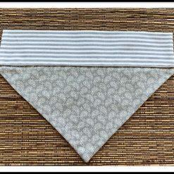 Dog Bandana/neck kerchief - Medium - Paisley Design - Slip through collar design.