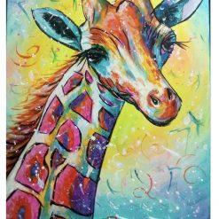 Giraffe Diamond Paining