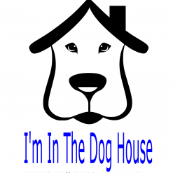 In the dog house SVG | Digital File | Cricut | Silhouette | ESP DXF JPG PNG PDF
