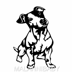Jack Russell SVG | Digital File | Cricut | Silhouette | ESP DXF JPG PNG PDF