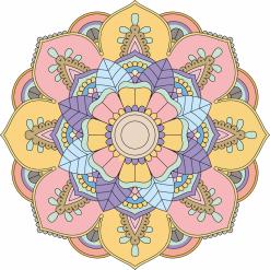 Unique Mandala Artwork by Mandala Emporium