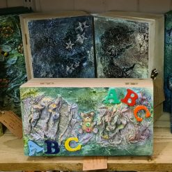 Mixed Media Wooden Boxes