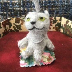 Bea Cat Needle felt. Free postage UK