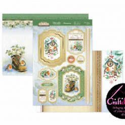 Hunkydory - Little Red Robin - When Robins Are Near - Luxury Topper Set