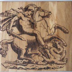 Large Heavy Oak Chopping Board