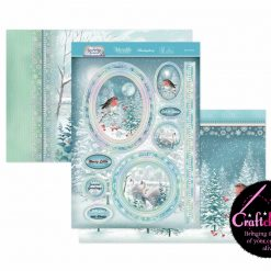 Hunkydory - A Sparkling Season - A Fabulous Finishes - Let It Snow - Luxury Topper Set