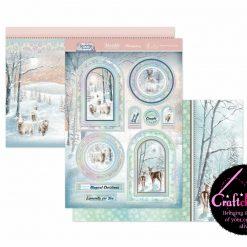 Hunkydory - A Sparkling Season - A Fabulous Finishes - Winter Wonderland - Luxury Topper Set