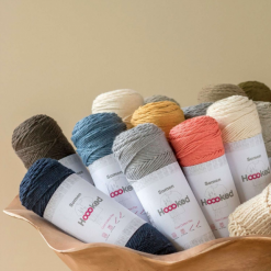 Hoooked Somen sustainable eco-friendly yarn – 100g/165m – cotton linen mix