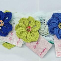 Pin Wheel Flower Brooch