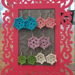 Mini Mandala Earrings