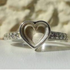 Sheila ring memorial cremation jewellery keepsakes