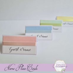 Felicity Wedding Name Place Card