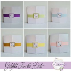 Tiffany Save the Date Cards